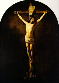 Rembrandt, Christ on the Cross