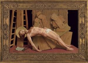 Michael Triegel, Deposition (framed)