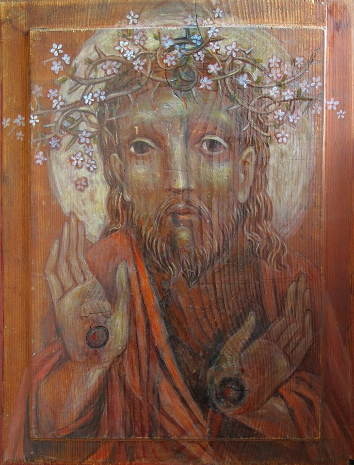 Duman-Skop, Tetiana_Christ in Blossoming Crown of Thorns