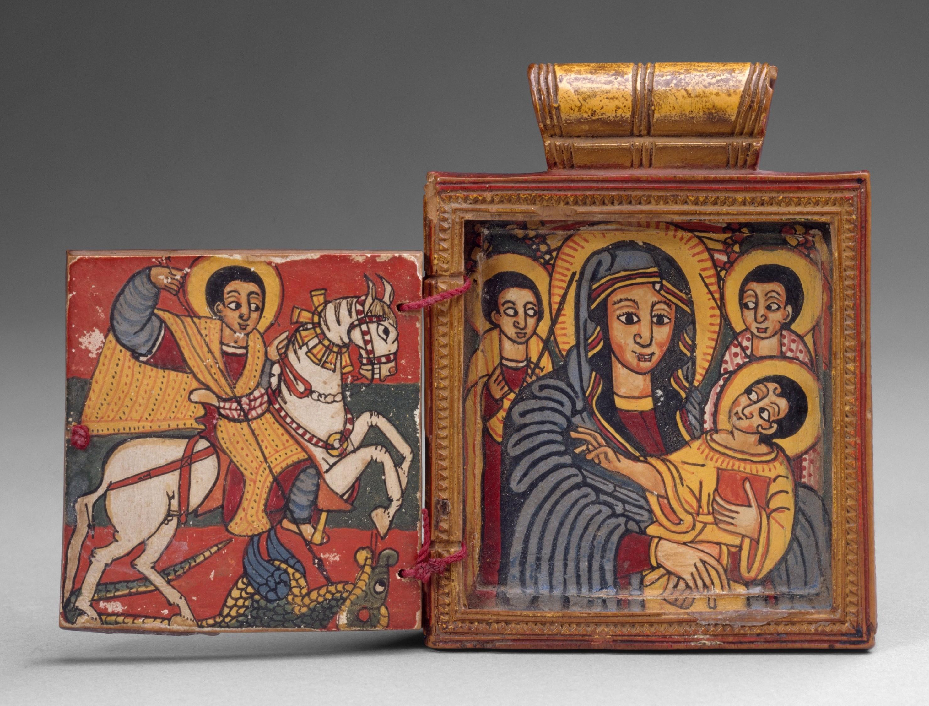 Ethiopian pendant icon