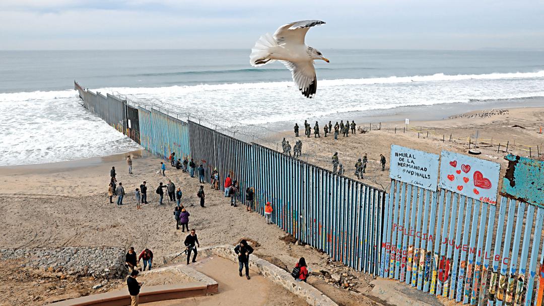 Mural of Brotherhood (US-Mexico border)