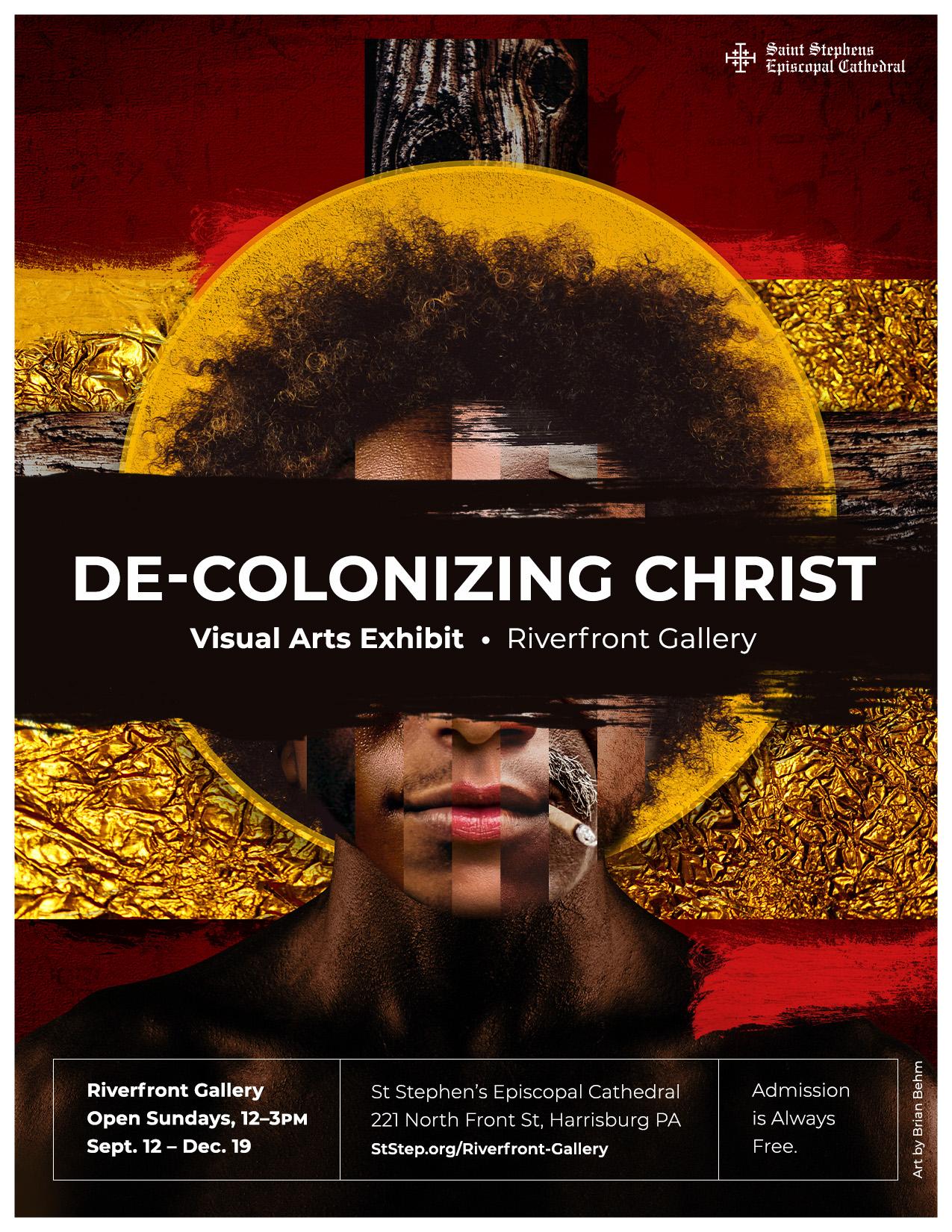 De-Colonizing Christ exhibition poster